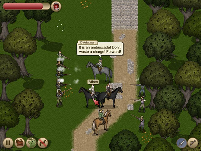 free download three musketeers game